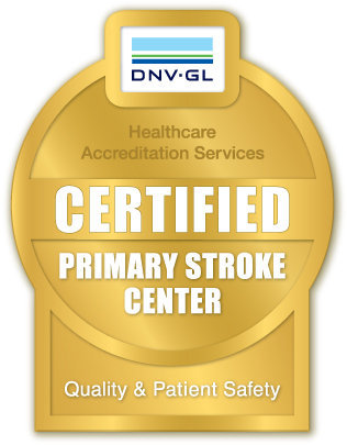 DNV-GL Certified Primary Stroke Center Logo
