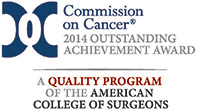 Achievement Award from the Commission on Cancer