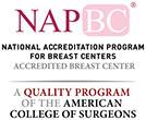 Seal of accreditation by the NAPBC