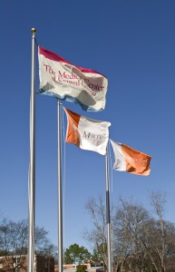 MUSM & Navicent Health Campus Flags