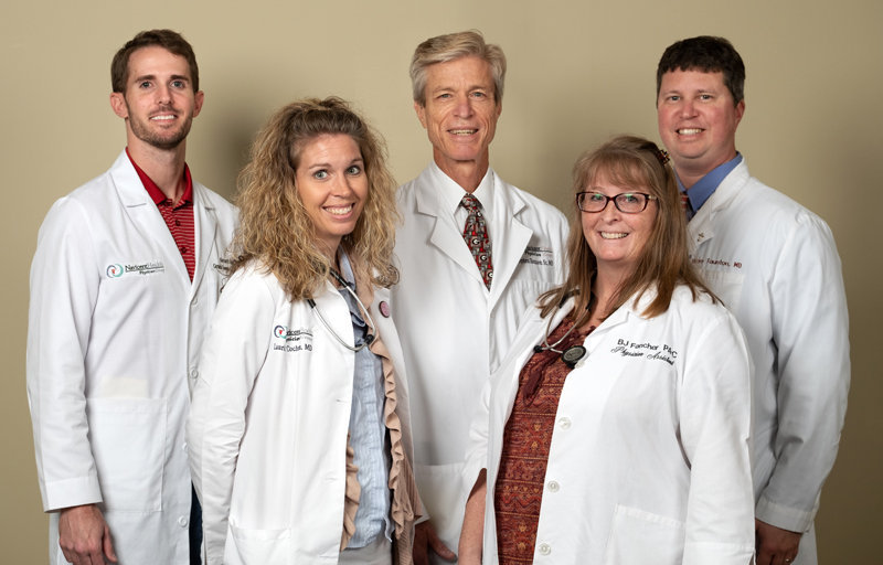 Central Georgia Family Medicine Staff Group Picture